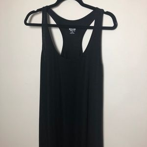 Mossimo Tank Maxi Black Dress